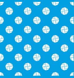 Handball pattern seamless blue vector