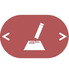 Note pad icon vector