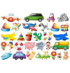 set children toy vector image