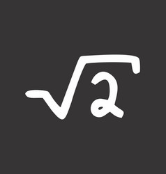 Square root of two vector