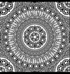 flower mandala vector image