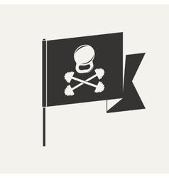 Gym pirate logo vector