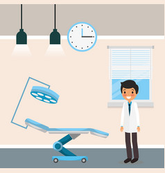 medical people cartoon vector image