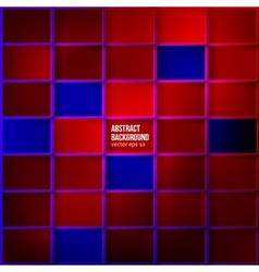 Color squares Abstract background vector