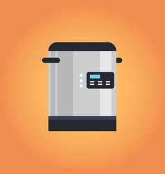 electric automatic multi cooker icon kitchen vector image