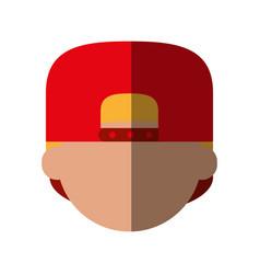 faceless man avatar icon image vector image