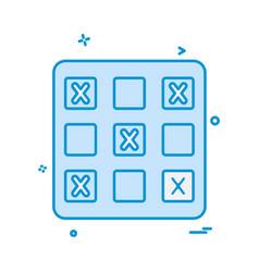 game icon design vector image