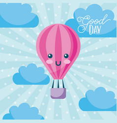 Good day cartoon vector