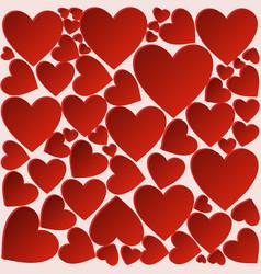 Heart backgroundfestive postcard vector