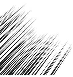 horizontal speed lines for comic booksstraight vector image