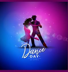 International dance day vector