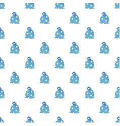 magic star bag pattern seamless vector image