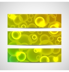 Modern abstract banner Abstract blurred vector