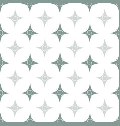 Retro gray four point star background vector