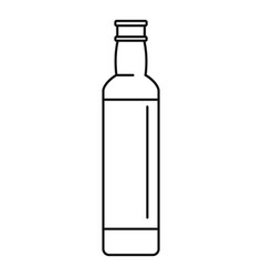 spanish olive oil icon outline style vector image