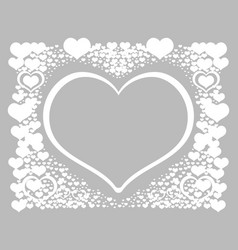 Valentines day post card 4 vector