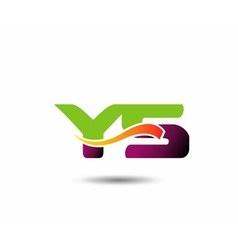 YS Logo vector image