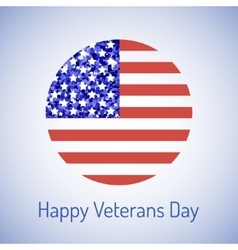 veterans day card vector image vector image
