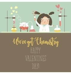 Chemistry of love vector