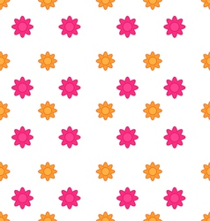 Seamless Texture with Flowers Elegance Child vector image vector image