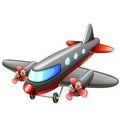 A vintage plane vector