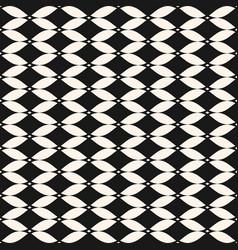 abstract black ornamental mesh seamless pattern vector image