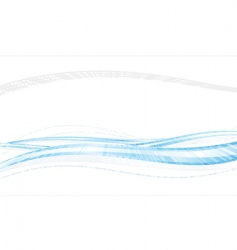 blue iridescent vector image