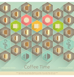 Cover of Coffee Menu vector image