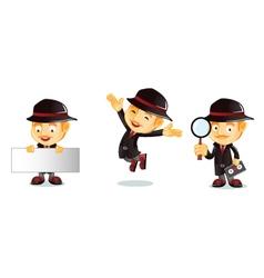 Detective 1 vector image