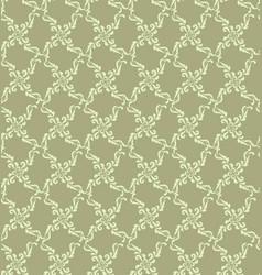 floral geometric pattern retro oriental flourish vector image