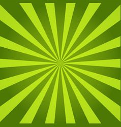 Green ray background vintage abstract texture vector