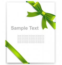 Greeting card certificate vector