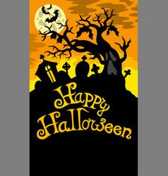 Happy halloween theme 6 vector