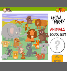 How many animals game vector