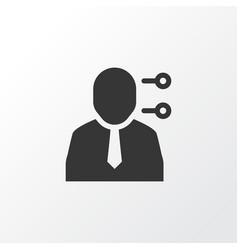 multitasking icon symbol premium quality isolated vector image