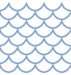 seamless pattern fish scale vector image