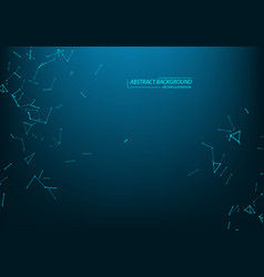 technology and science background abstract web vector image