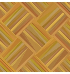 Wooden Parquet Low Poly vector image