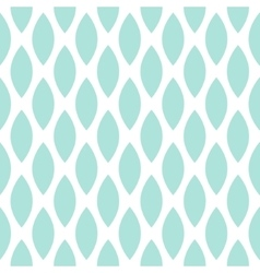 Blue drops seamless geometric pattern vector image
