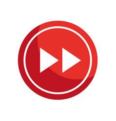 Next arrow button icon vector