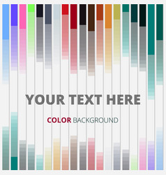 abstract of colorful strips lines background vector image