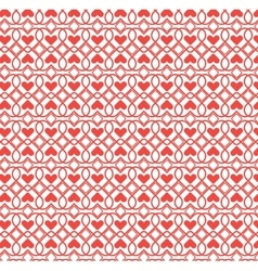 Abstract pattern heart vector