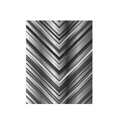 abstract technology metallic arrows vector image