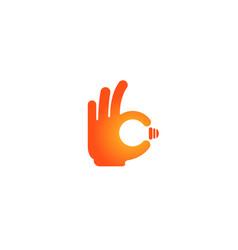 great idea logo vector image