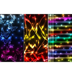 Mix of plasma banners vector