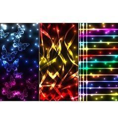 mix plasma banners vector image