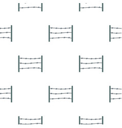 restricted area pattern seamless vector image