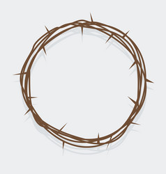 Simple crown thorns vector