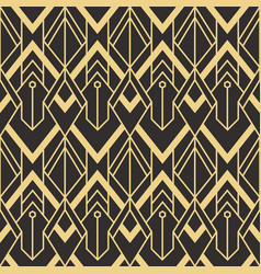abstract art deco pattern05 vector image