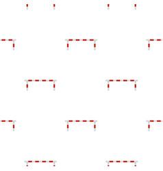 Striped barrier pattern seamless vector